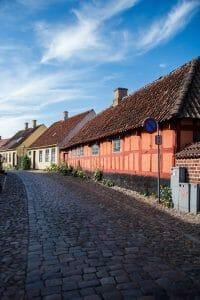 Half timber houses in Denmark