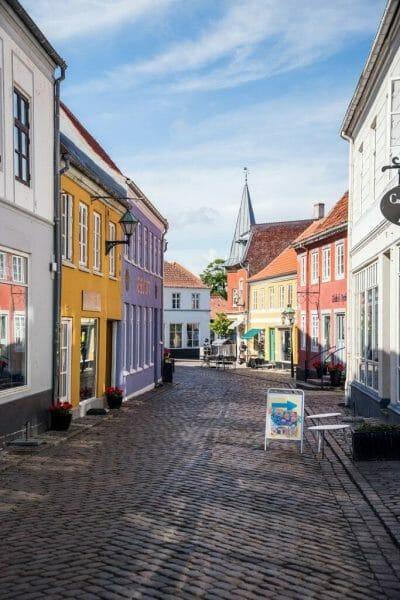 Downtown Ebeltoft, Denmark