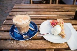 Cafe in Ebeltoft, Denmark