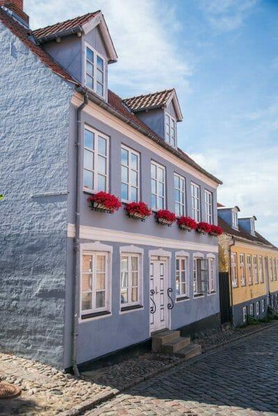 Pretty villages in Denmark