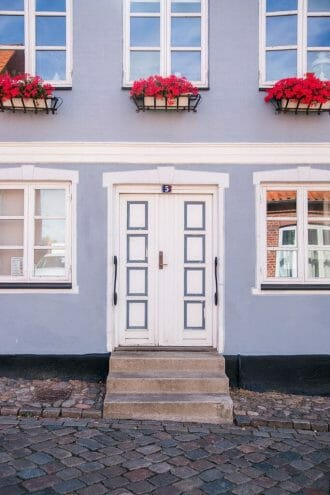 House in Ebeltoft, Denmark