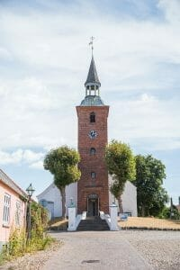 Cathedral in Ebeltoft, Denmark