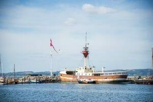 Boats in Ebeltoft, Denmark