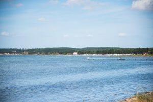 Turqoise ocean in Denmark