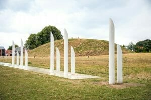 Jelling, Denmark burial mounds