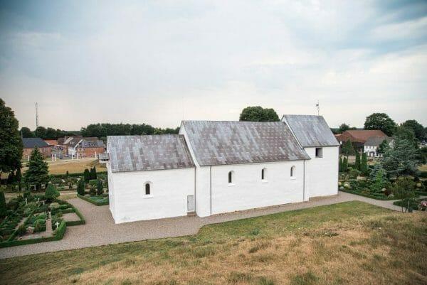 Church in Jelling, Denmark