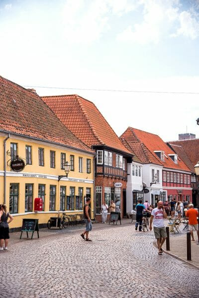 Downtown Ribe, Denmark