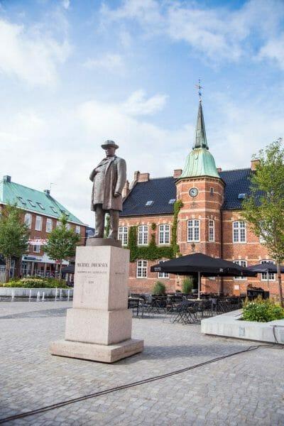Downtown Silkeborg, Denmark