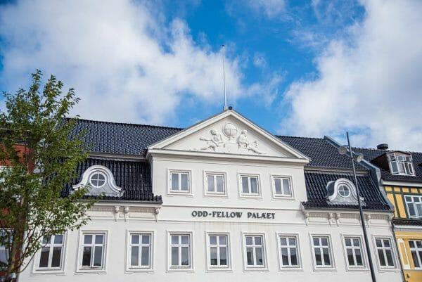 Odd Fellow Palaet in Silkeborg, Denmark