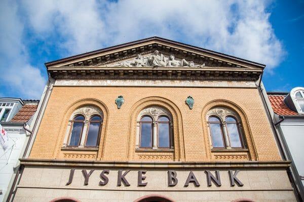 Jyske Bank in Silkeborg, Denmark