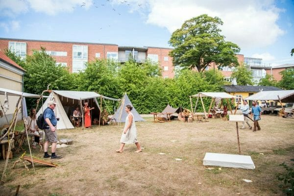 Museum Silkeborg Viking market