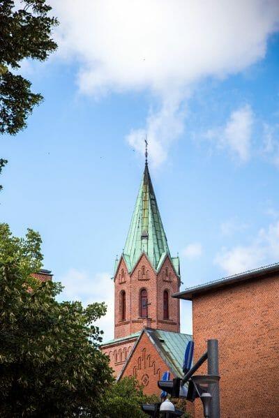 Church in Silkeborg, Denmark