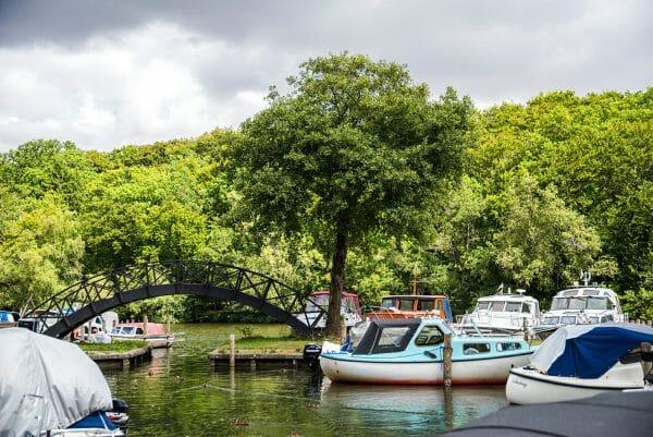 Park in Silkeborg, Denmark