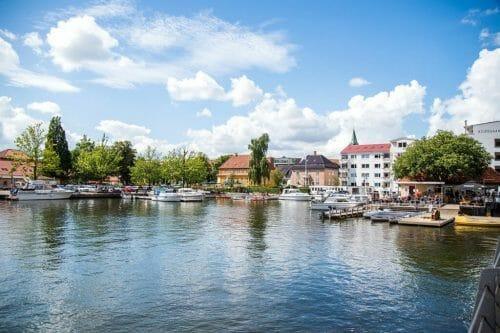 Riverfront in Silkeborg