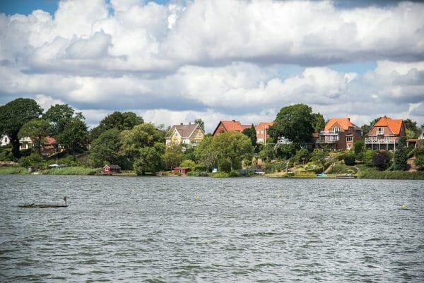 River in Silkeborg, Denmark
