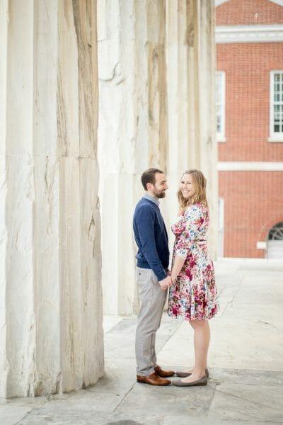 Engagement photoshoot in Old City Philadelphia