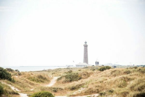 Lighthouse in Skagen