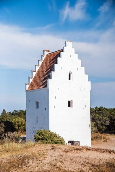 Sand-Covered Church in Skagen