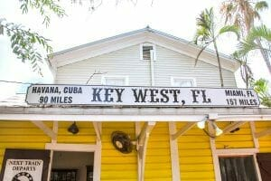 Historic building in Key West, Florida