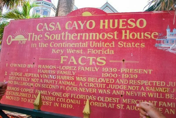 The southernmost house in the US