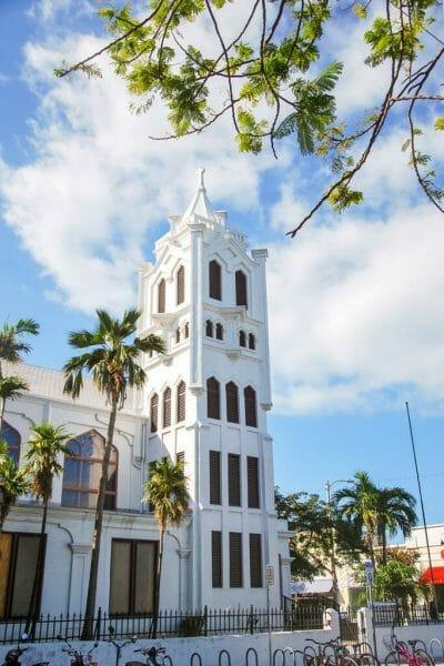 Key West historic church