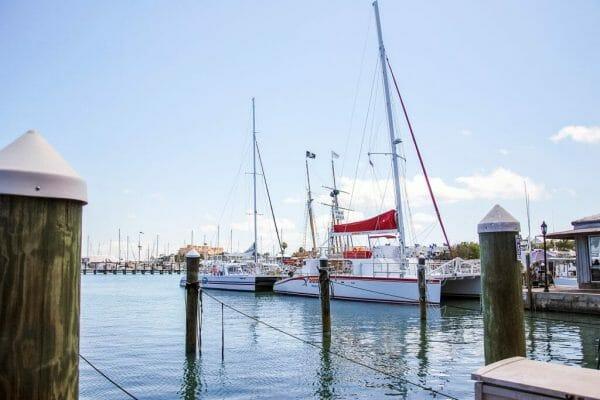 Key West pier