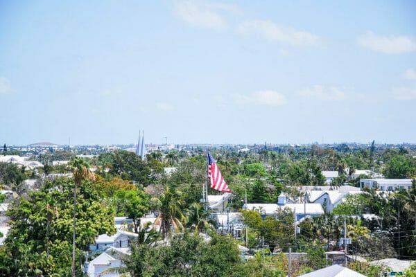 View from Key West lighthouse