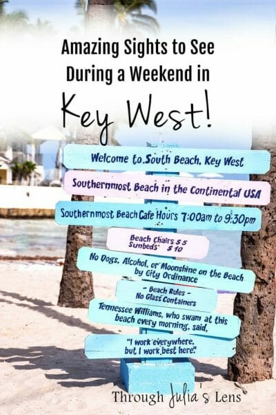 Amazing Sights to See During a Weekend in Key West, Florida