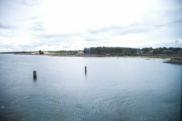 Ferry ride to Samsø