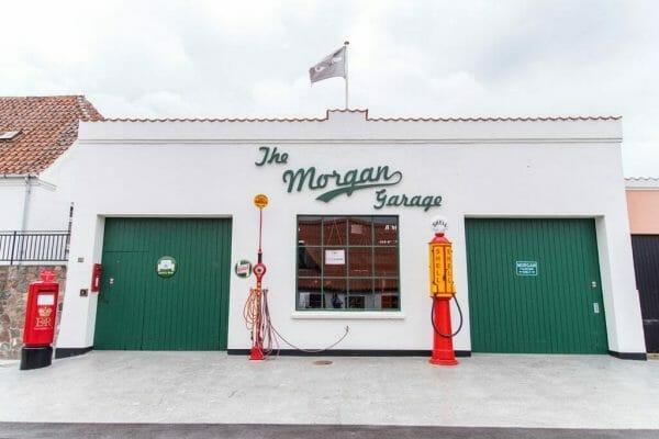 The Morgan Garage in Besser, Samsø