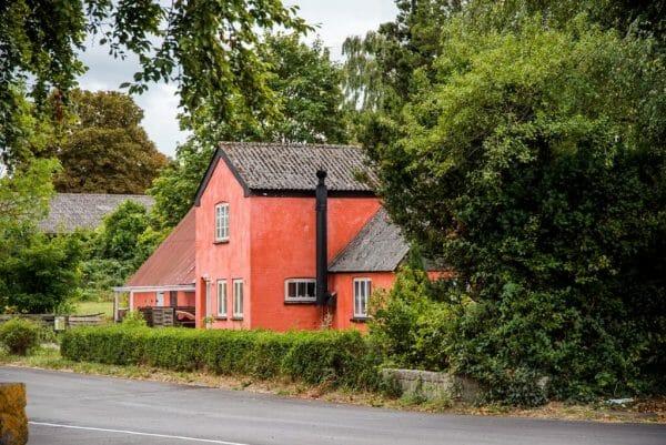 Red house in Samsø