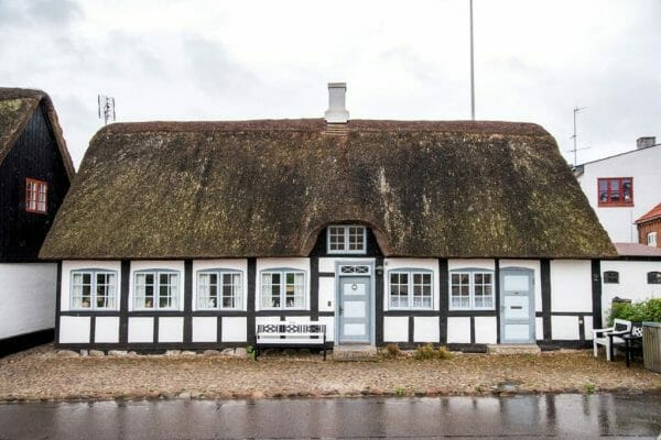 Grass roof house in Samsø