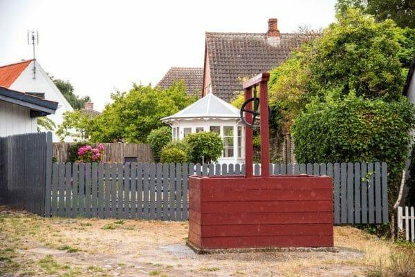 Red well in Denmark