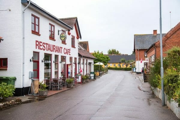Downtown Nordby, Denmark