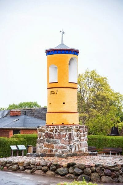 Bell tower in Nordby, Samsø