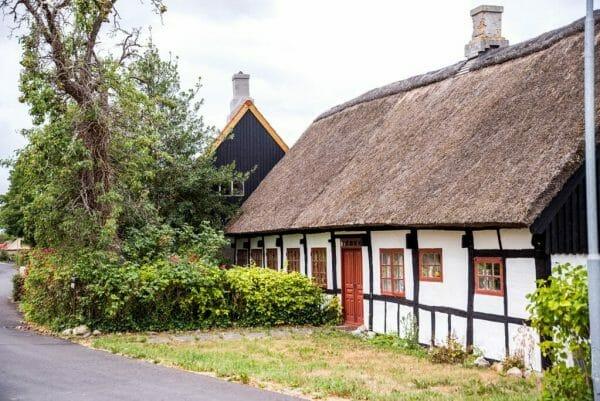 Half-timber house in Denmark