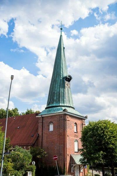 Historic church in Hamburg