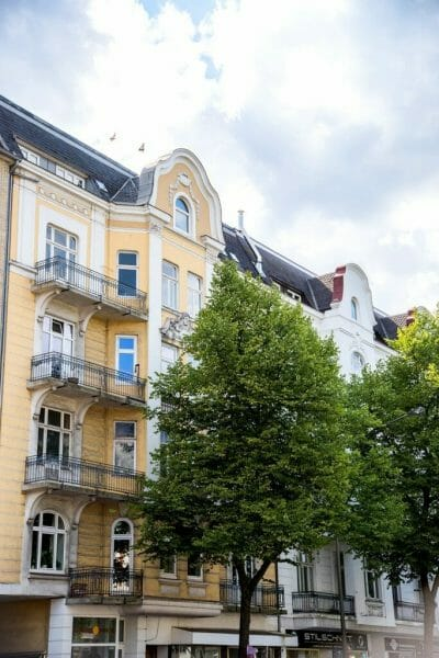 Victorian house in Hamburg