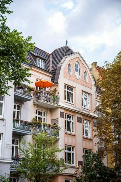 Eppendorf neighborhood in Hamburg