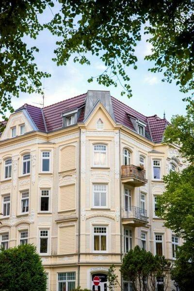 Victorian neighborhood in Hamburg