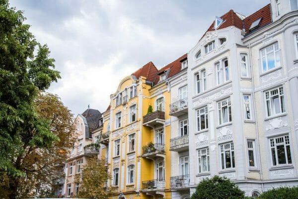 Eppendorf neighborhood in Hamburg