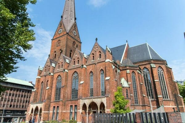 St. Peter's Church in Hamburg