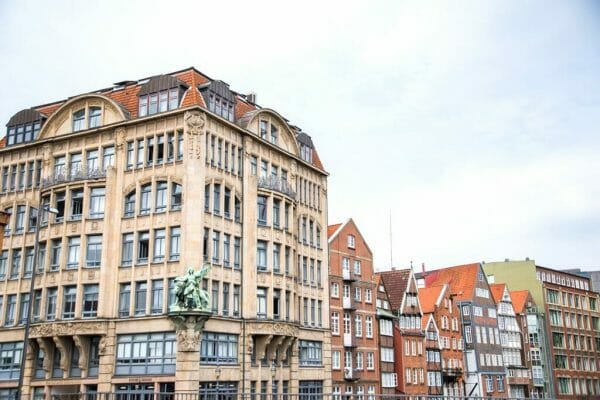 Historic architecture in Hamburg