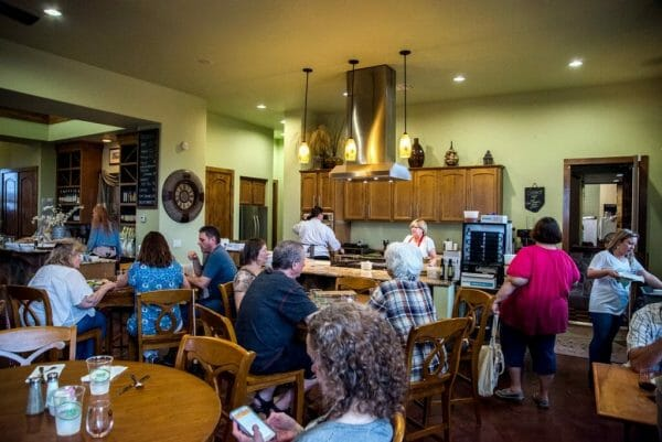 Texas Hill Country Olive Company and Winery in Austin
