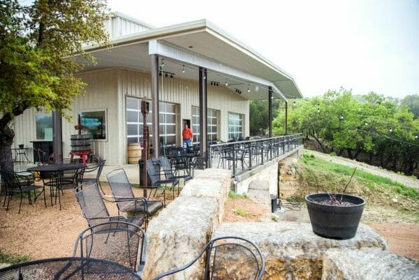 Hawk's Shadow Winery in Austin