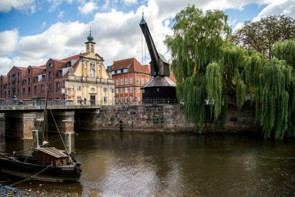Canal in Luneburg