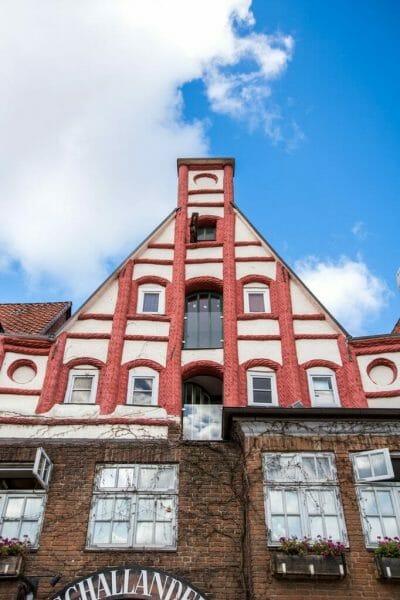 Pink German building