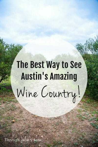 Austin Wine Tours: The Best Way to See Austin's Amazing Wine Country