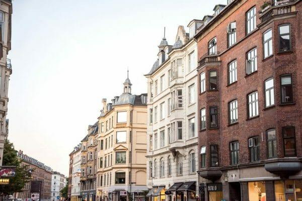 Victorian buildings in Copenhagen