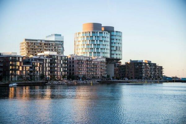 Østerbro harbor in Copenhagen